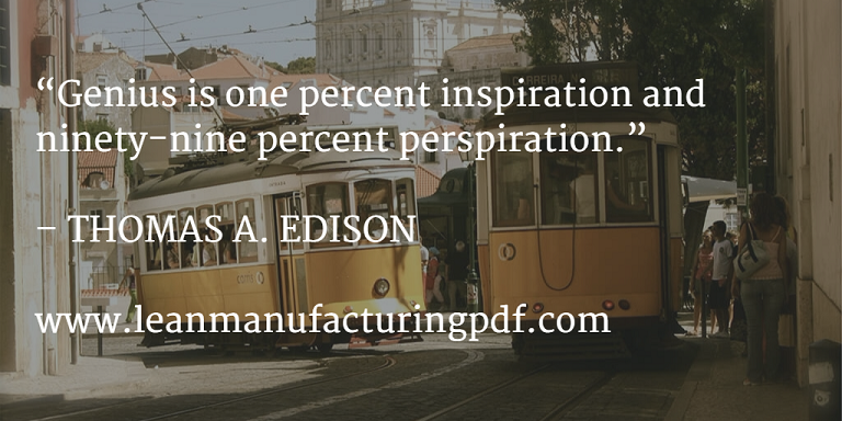 Lean Manufacturing Edison Sentences 1