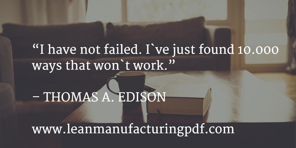 Lean Manufacturing Edison Sentences 2