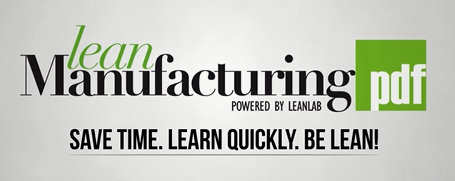 Lean Manufacturing PDF Motto.