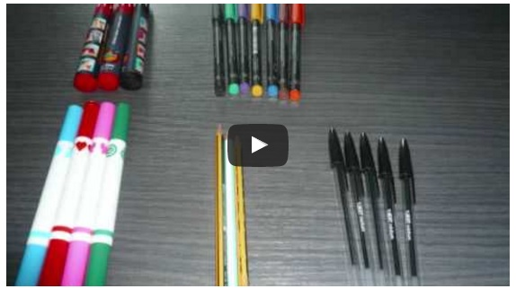 Visual Management by pen and pencils