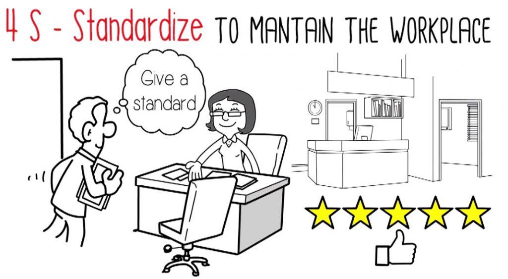 4S - Standardize